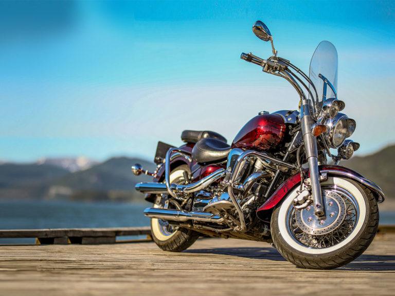 Hydrodippet motorsykkel